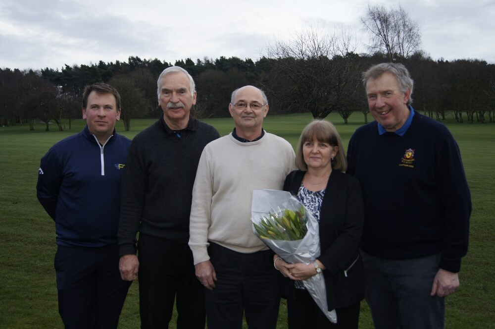 Greenkeeper's 30 years of service