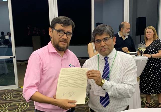 Bionema sign MoU with Scientia Colombia