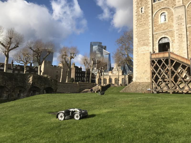 Husqvarna Automower® at the Tower of London