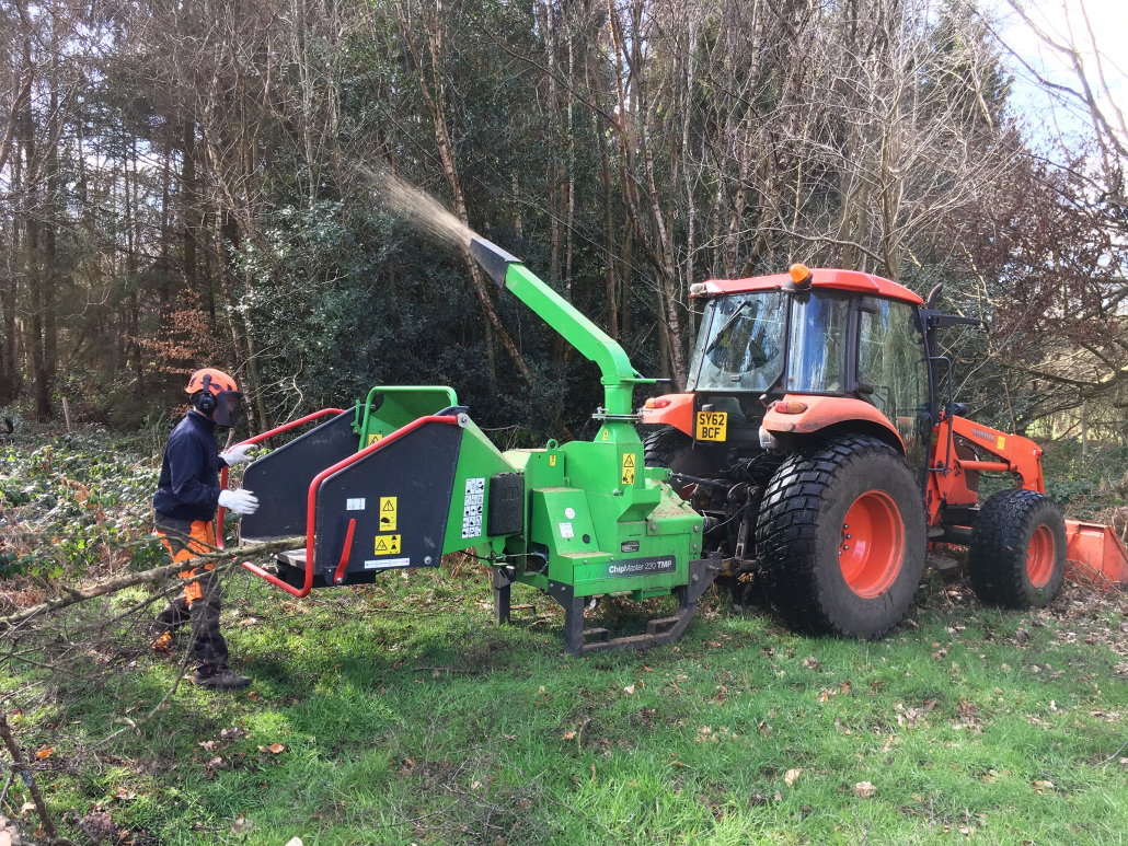 Woodland Management made easier for Wildernesse GC