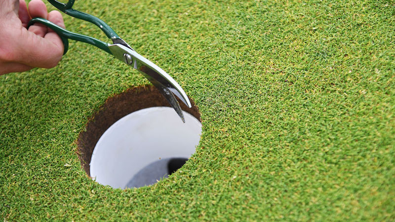 Greenkeepers still able to work