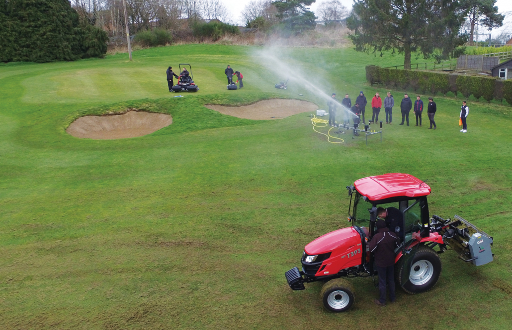 Young greenkeepers day a success