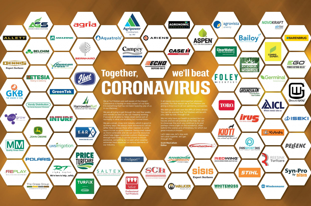 Together, we'll beat coronavirus