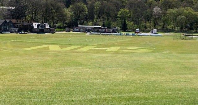 Todmorden CC pay NHS tribute