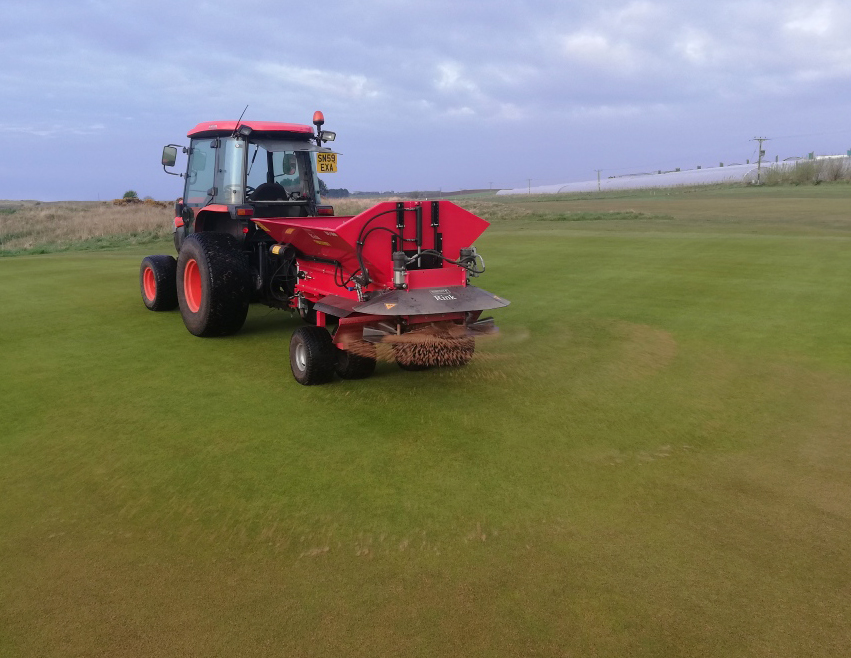 Rink DS800 impresses in Arbroath