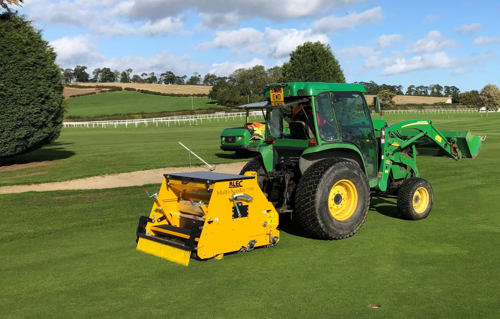 Overseeding transformed for Kelso GC
