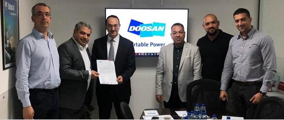 Doosan strengthens Middle East dealer network