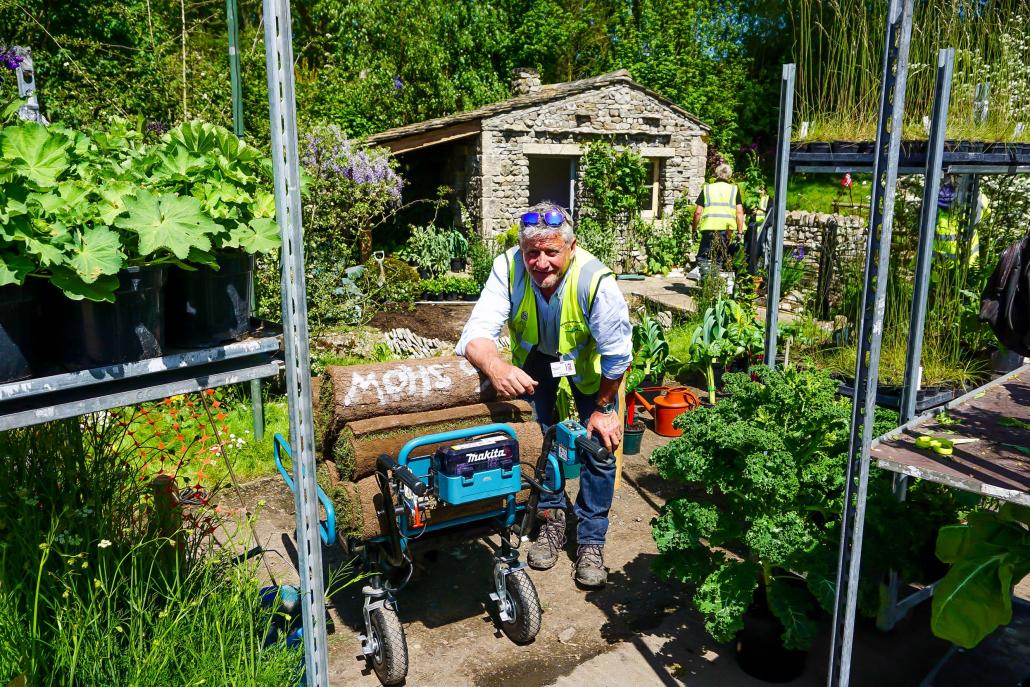 Makita supports Garden of the Decade