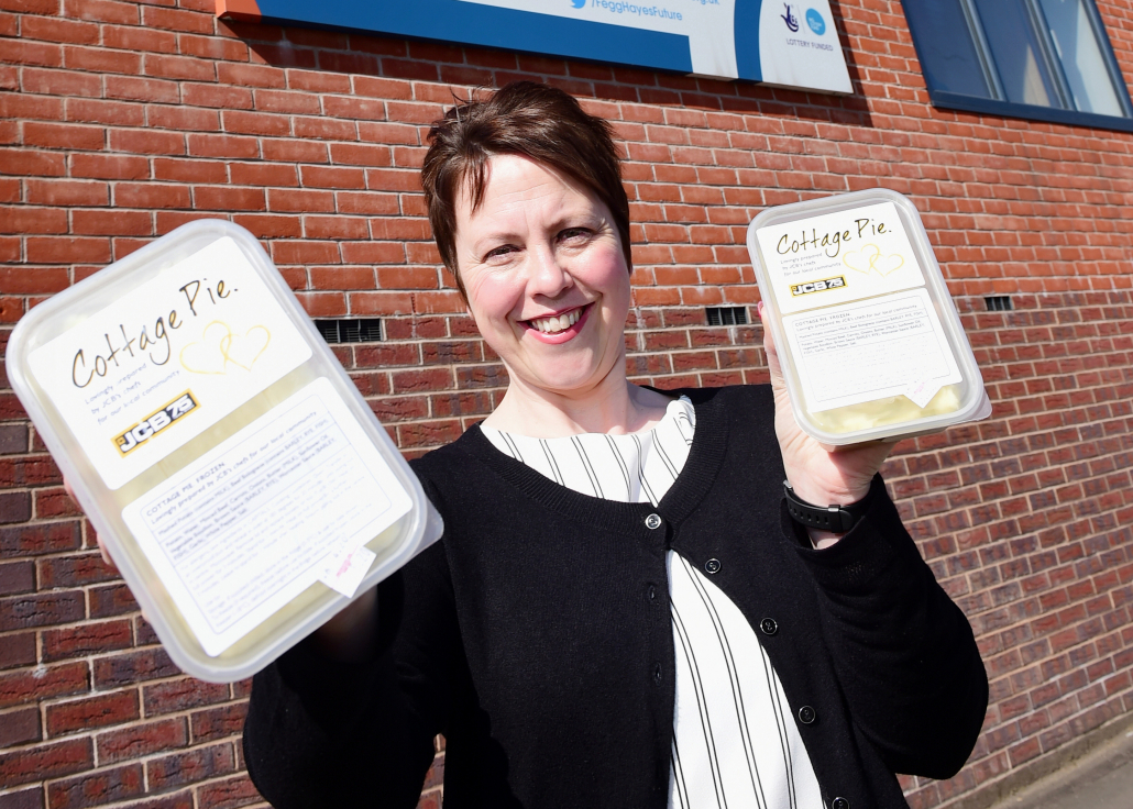 Food aid project signs off on a high