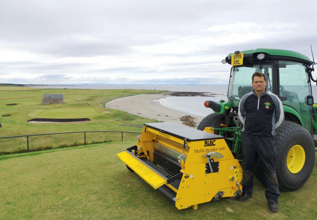 Crail Golfing Society praises BLEC Multi-Seeder