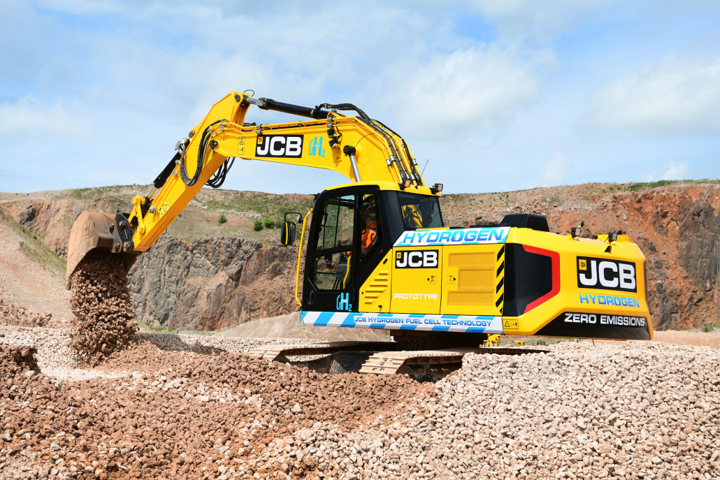 JCB leads the way