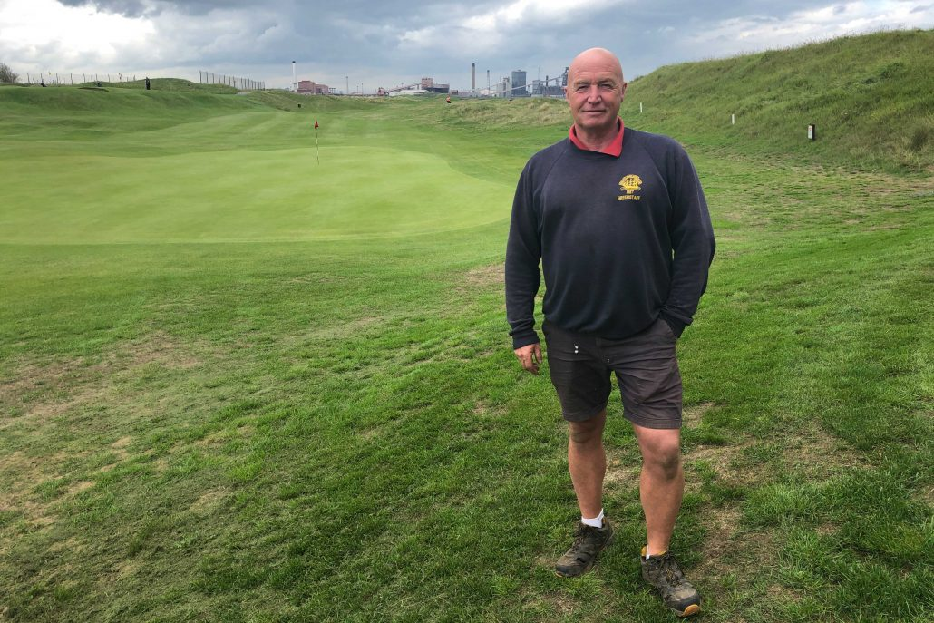 Maintaining a golf course alone