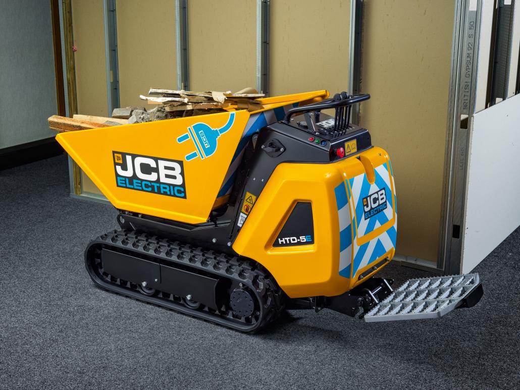 JCB expands E-Tech line