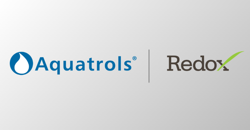 Aquatrols' and Redox exclusive agreement