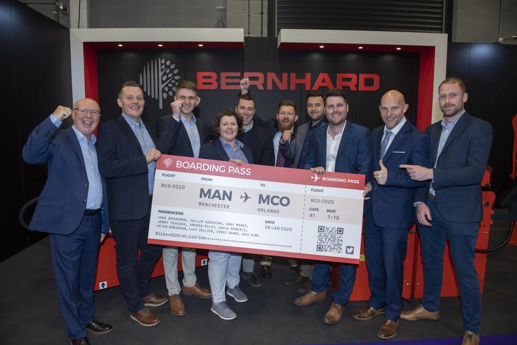 Bernhard postpone BIGGA delegation