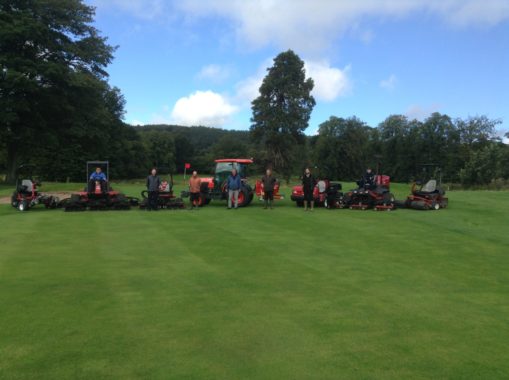 Henderson Grass Machinery helps Charleton rise from the ashes