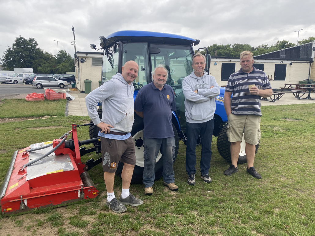 Dartfordians RFC upgrade with Campey