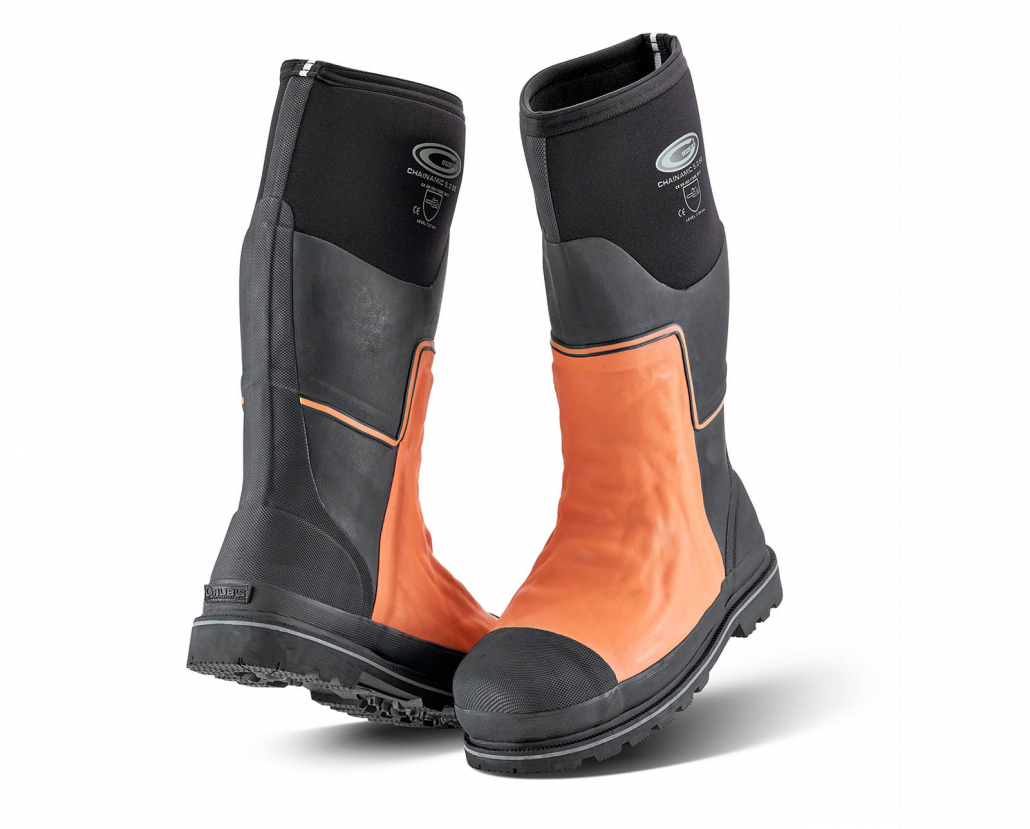 Grub's Chainsaw Boot – The Ultimate Protection