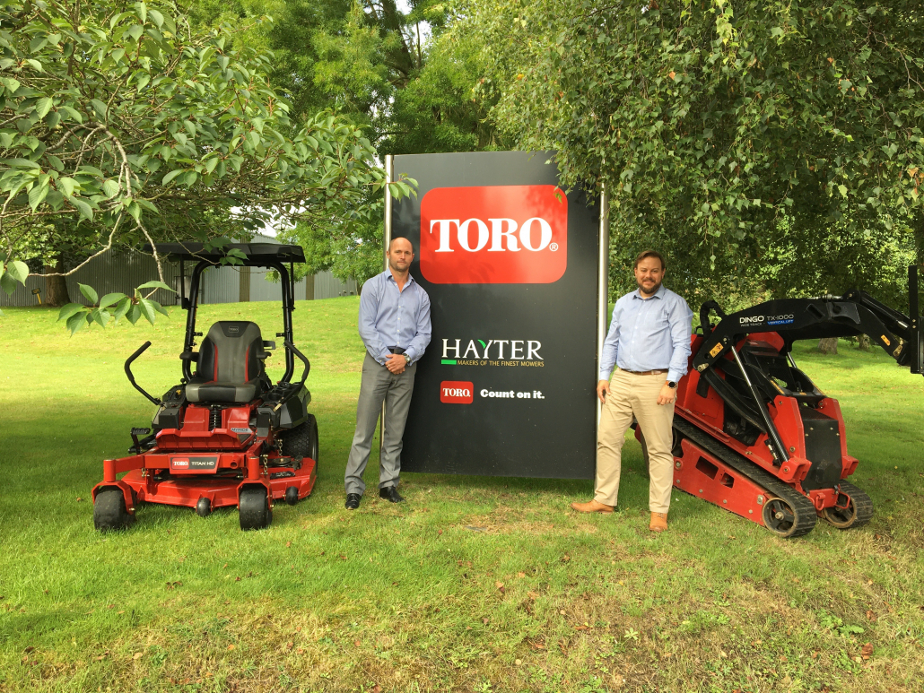 Hayter & Toro appoints new LCE & Siteworks Sales Manager