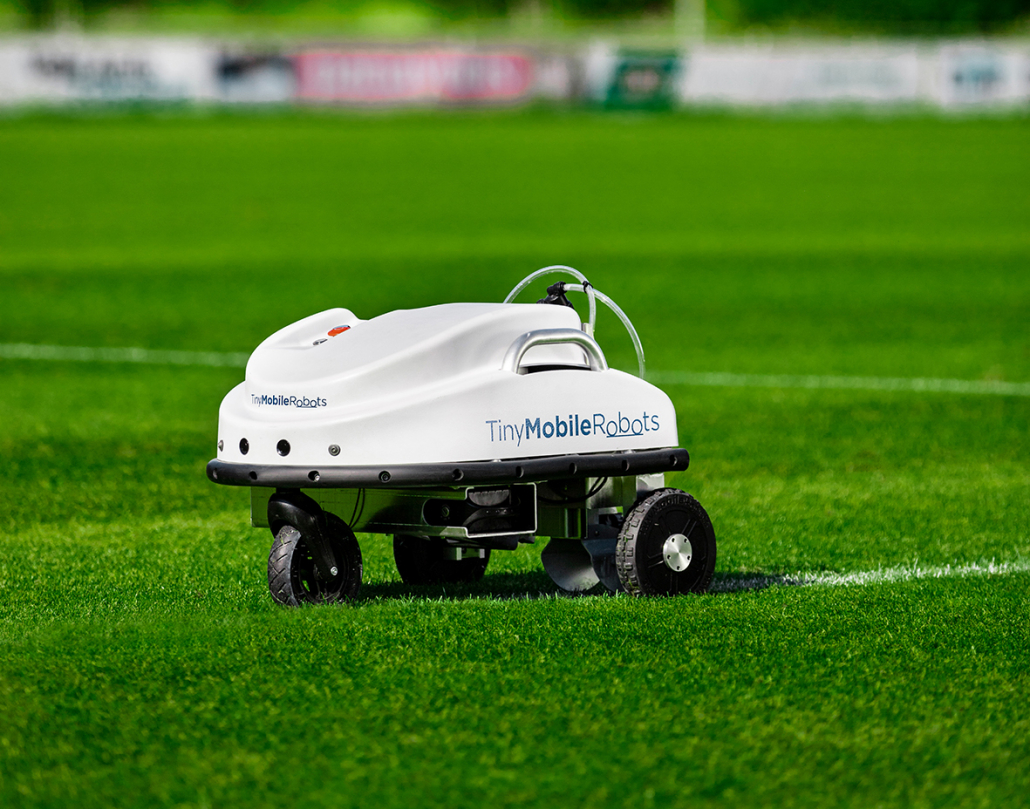 Robotic line marking- the future is here!