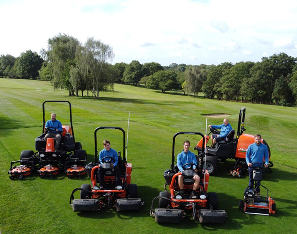 Crews Hill Golf Club invest in Jacobsen