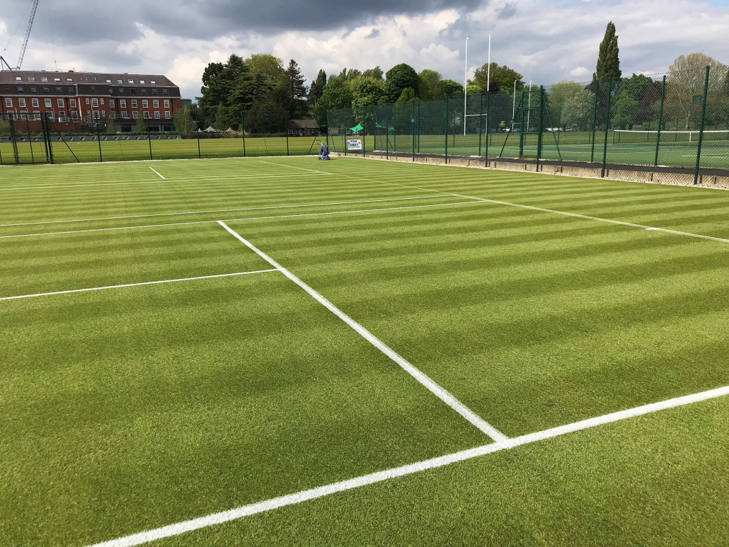 INFINICUT and UltraGroomer™ delivers quality courts