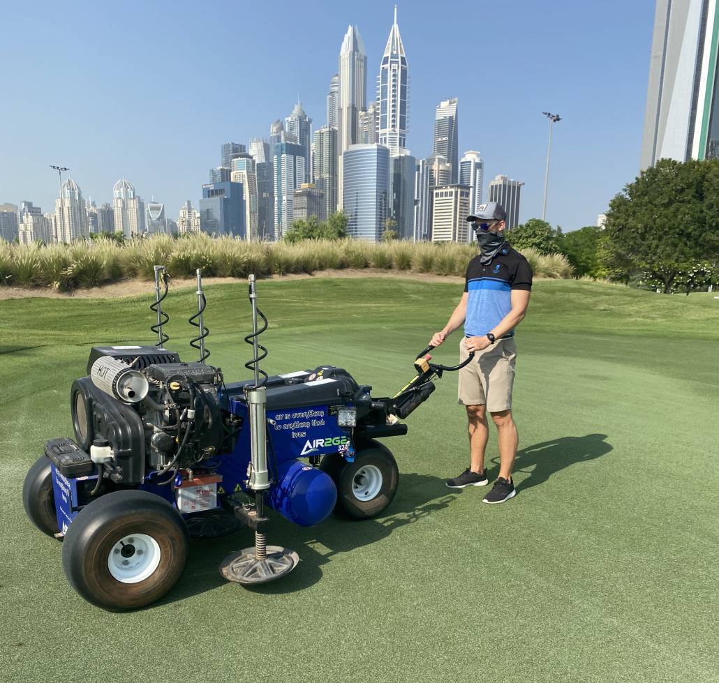 Emirates Golf Club and the Air2G2