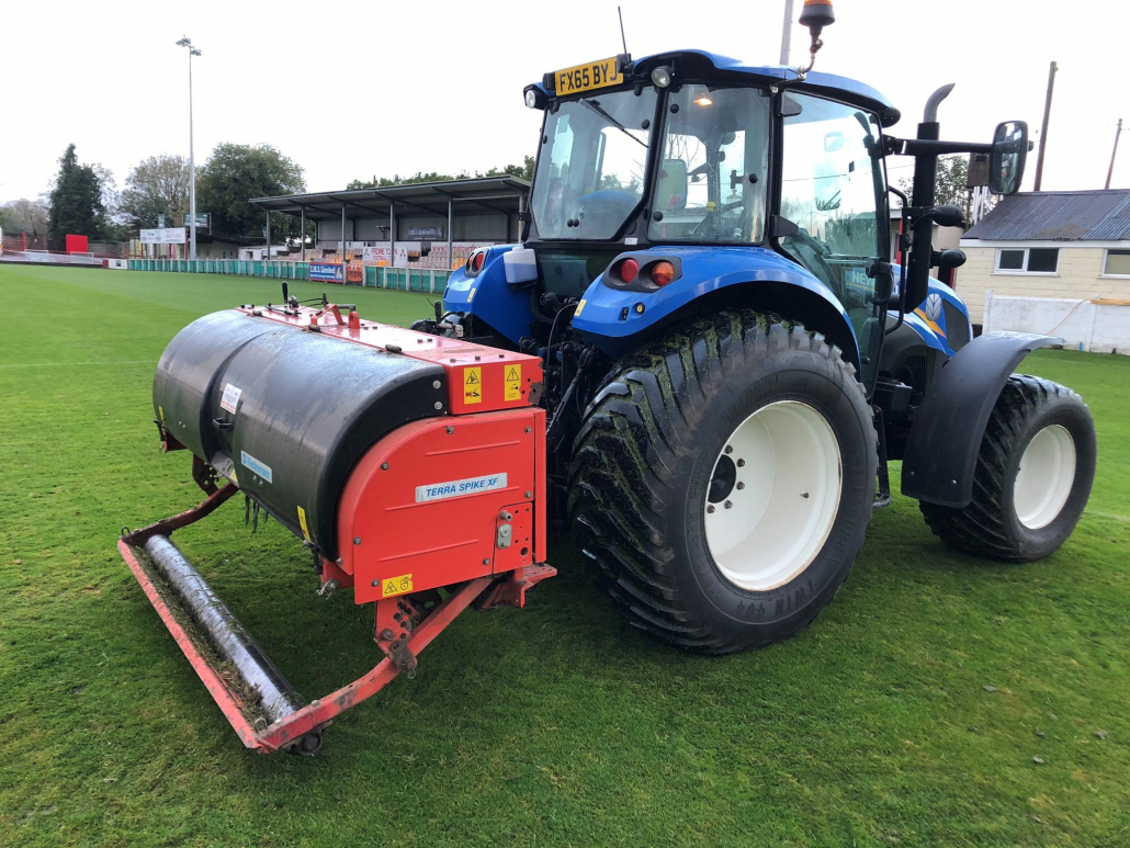 Greensward supporting local clubs