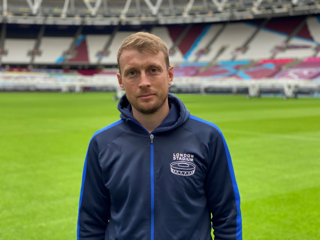 Hunter hits the mark at the London Stadium