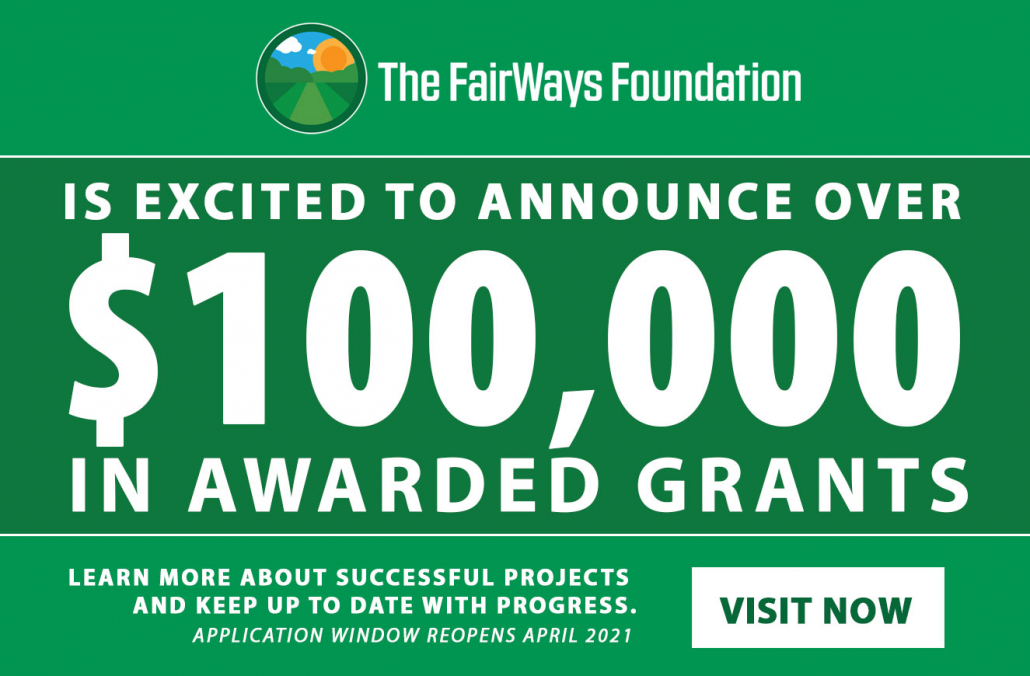 The FairWays Foundation completes inaugural grant cycle