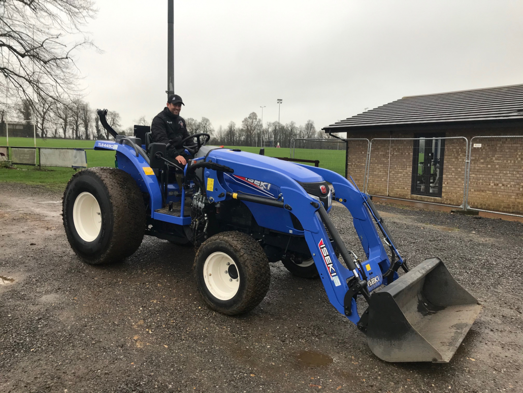 New kit for new pitches at Towcestrians