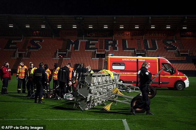 FC Lorient groundsman dies