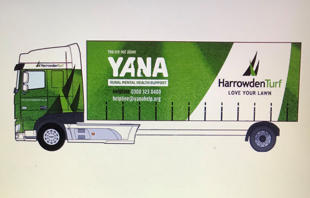 YANA and Harrowden Turf support rural mental health