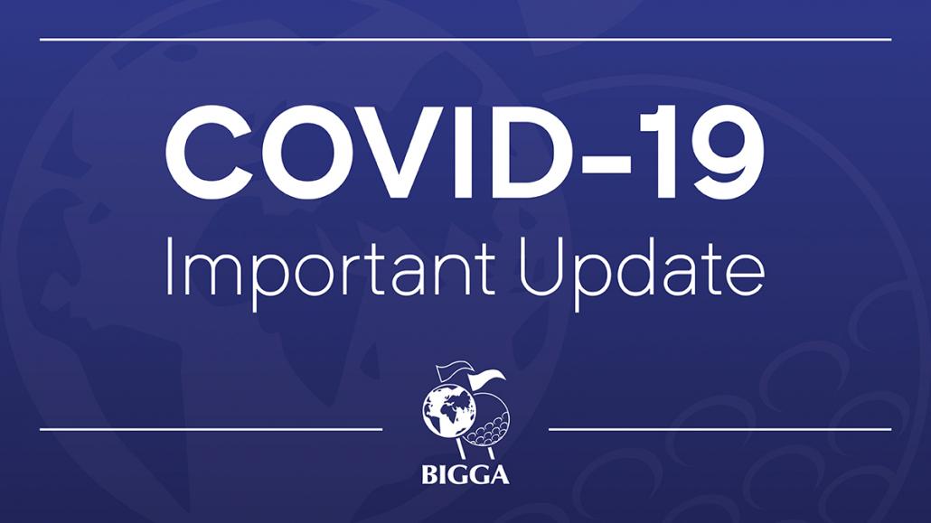 Lockdown update from BIGGA