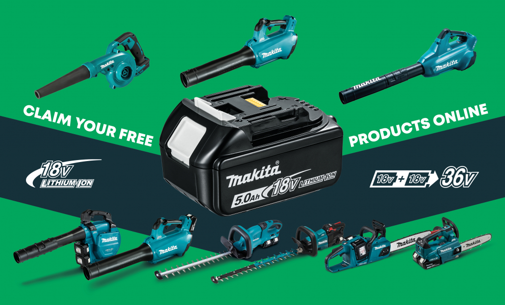 Spring into action with Makita