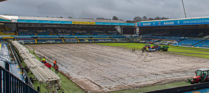 Leeds United to re-turf Elland Road