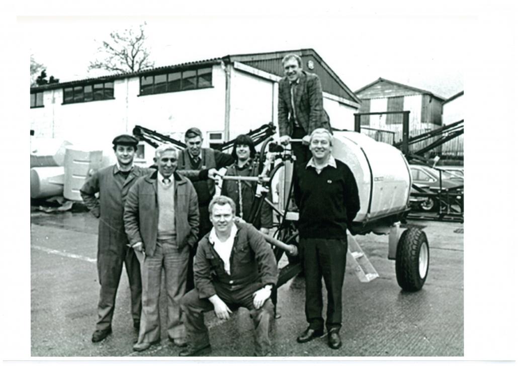 Team Sprayers celebrate 40 years