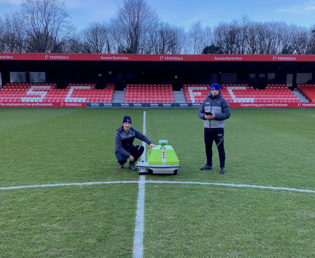 NW Pitch Maintenance make their mark