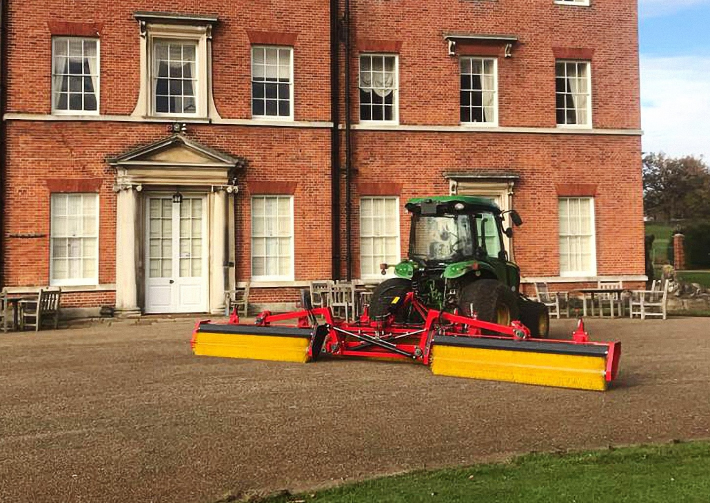 Top-Brush provides worm cast solution