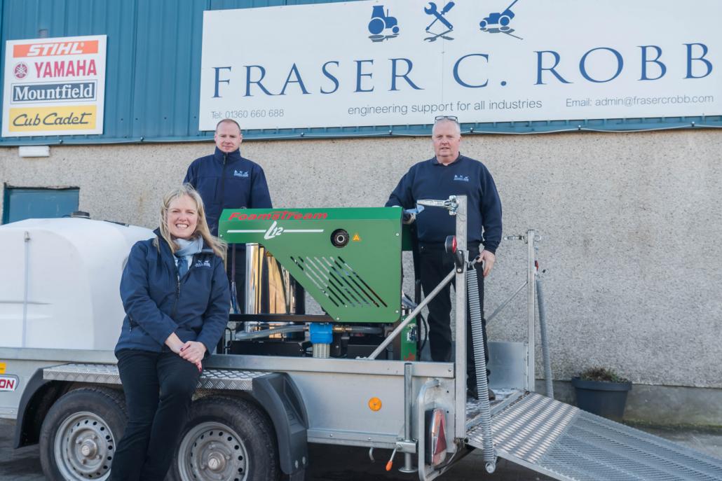 Scottish sales agreement for Foamsteam