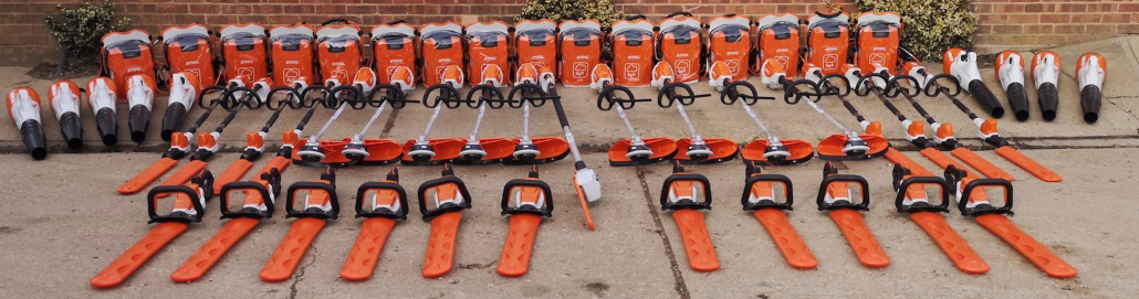 STIHL cordless machinery the right fit