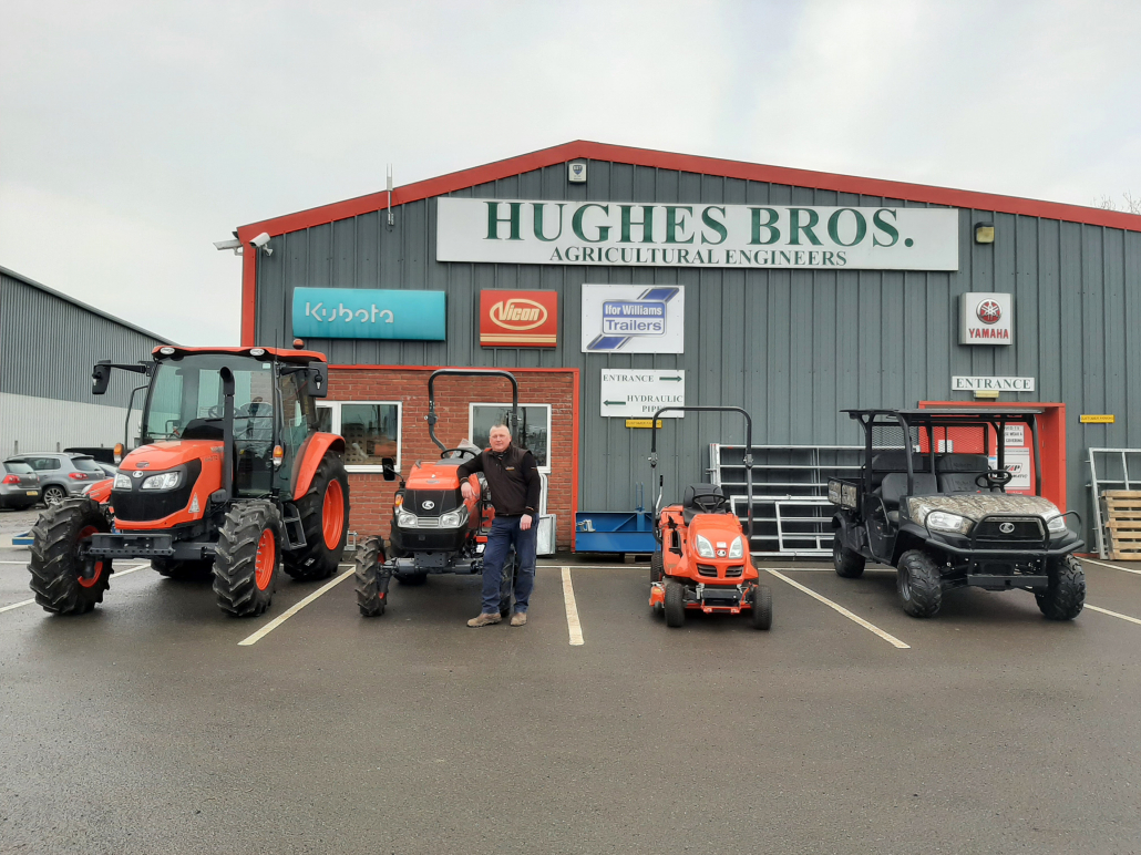 Hughes Bros and Battlefield take on Kubota equipment