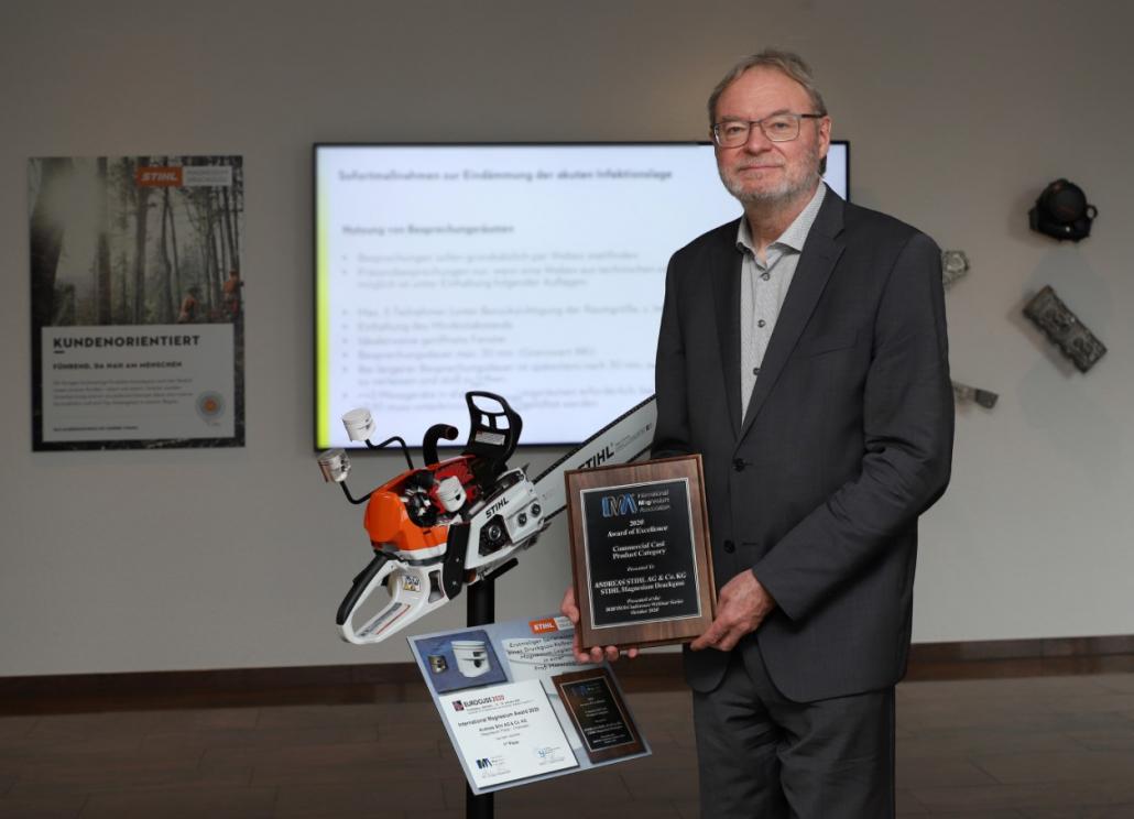 STIHL chainsaw wins top award