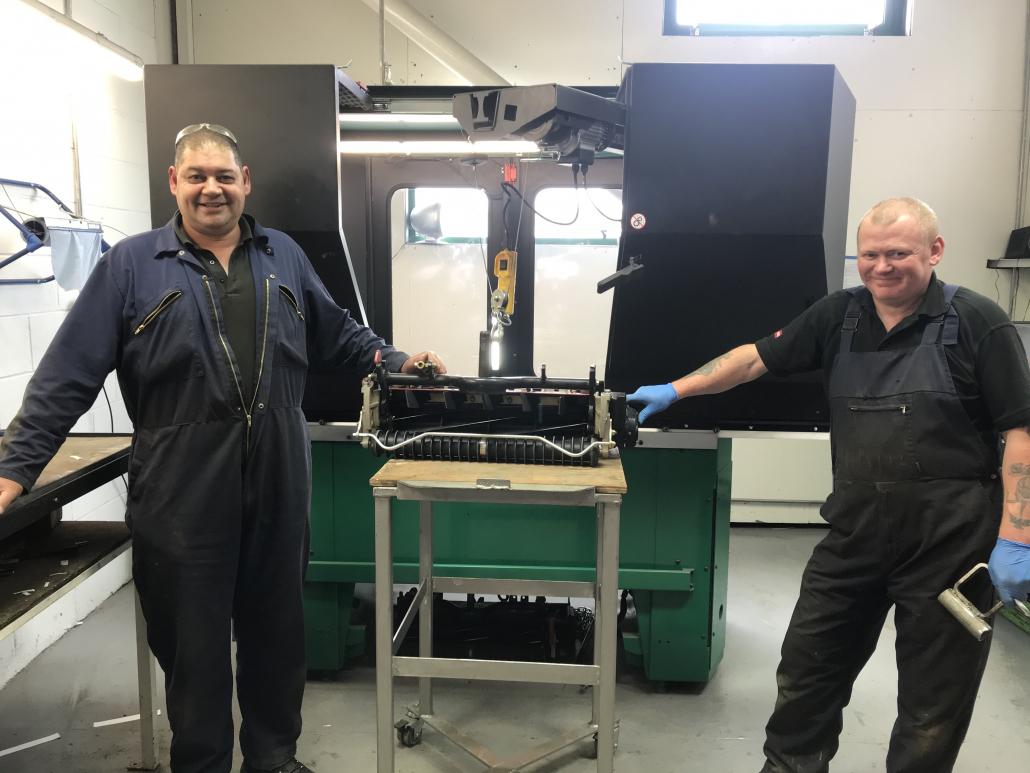 Foley Company pushes on in UK