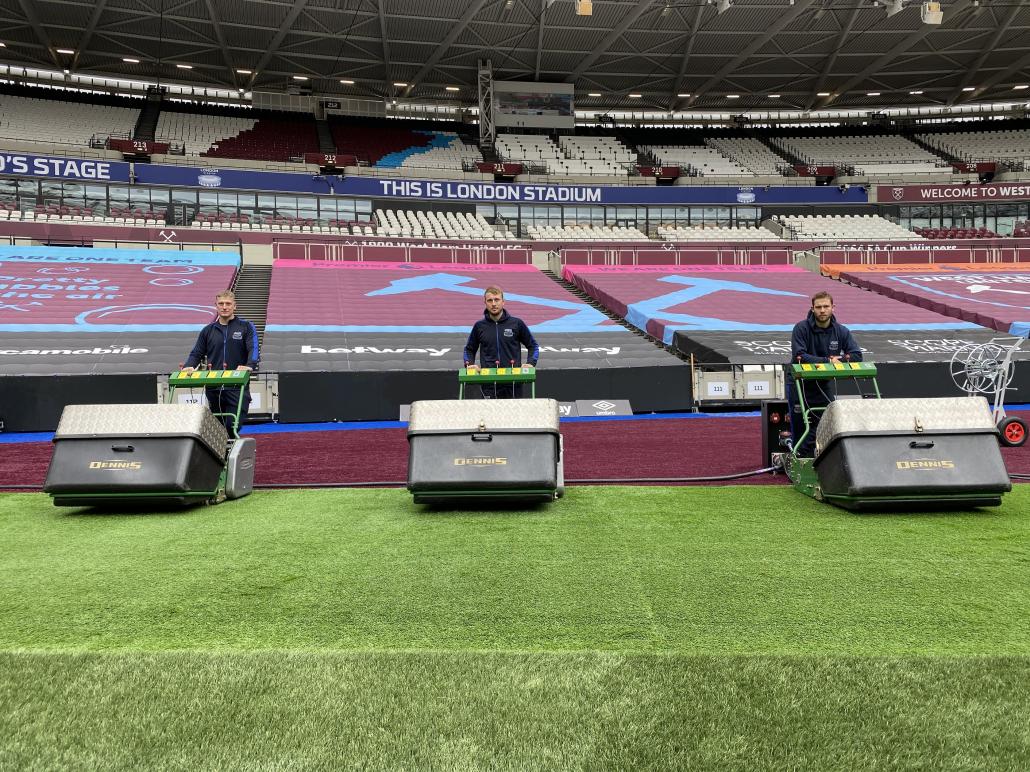 London Stadium relies on G860's