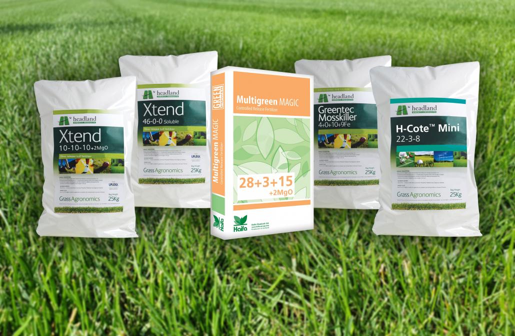 Headland's range of specialist fertilisers