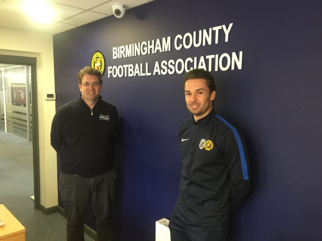 Campey partnership with Birmingham FA
