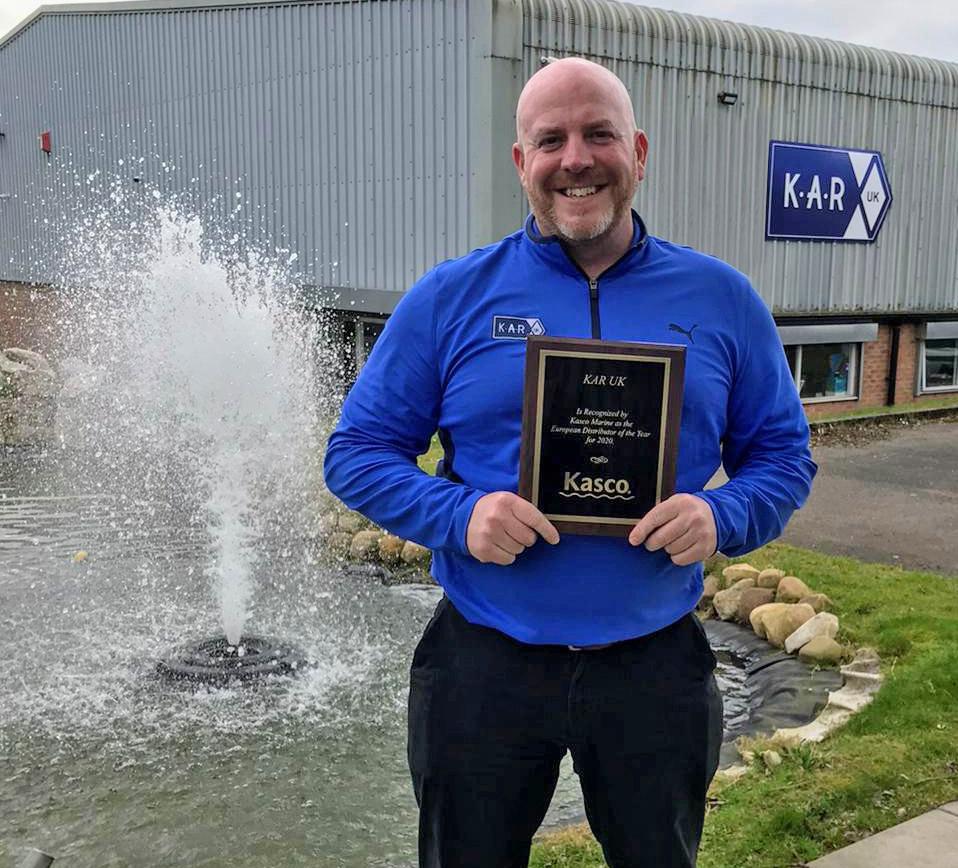 KAR wins distributor award