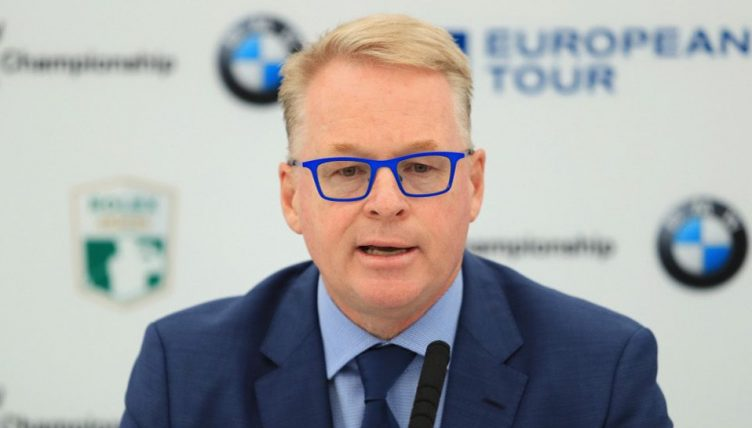 Keith Pelley at the GolfBIC conference