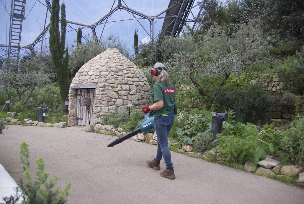 Makita: powering the Eden Project